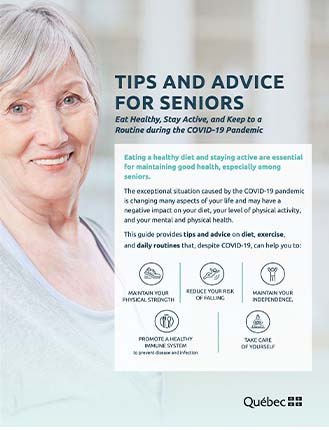 TIPS AND ADVICE FOR SENIORS